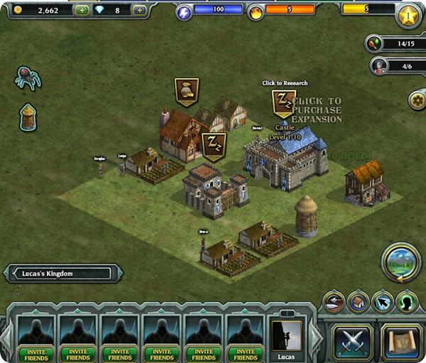 Kingdom Age - mapa principal