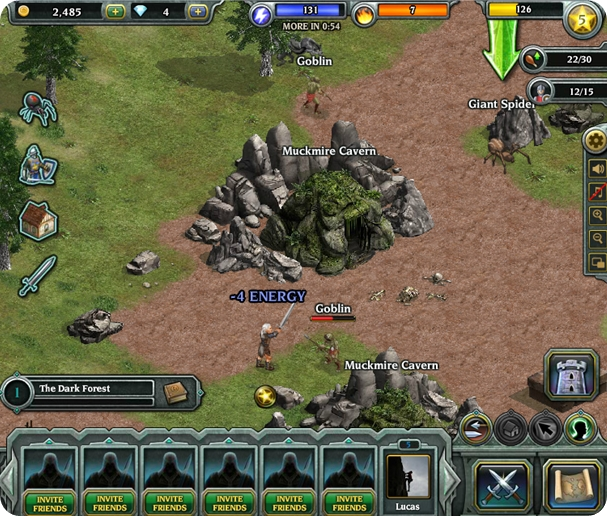 Kingdom Age - modo RPG