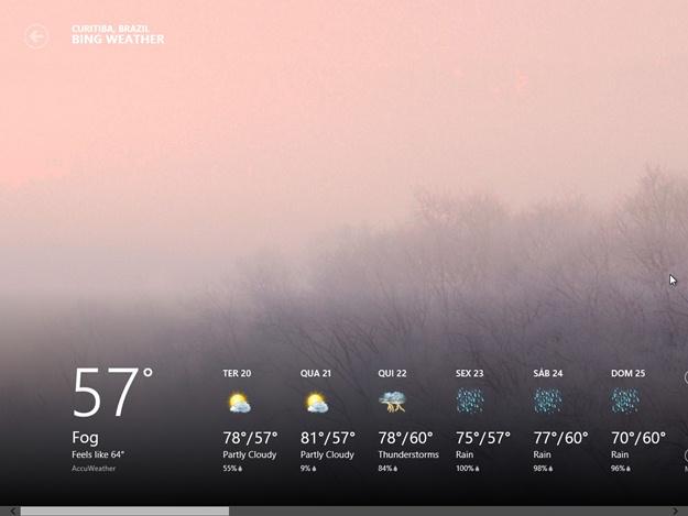 Weather Metro - Imagem 3 do software