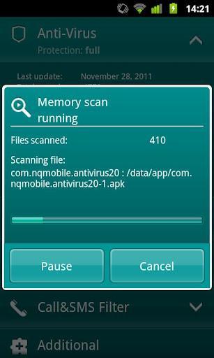 Kaspersky Security For Mobile - Imagem 1 do software