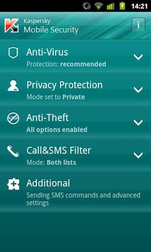Kaspersky Security For Mobile - Imagem 2 do software