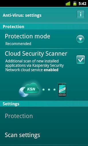 Kaspersky Security For Mobile - Imagem 6 do software