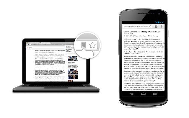 Chrome to Mobile - Imagem 2 do software