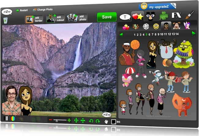 piZap Photo Editor - Imagem 1 do software