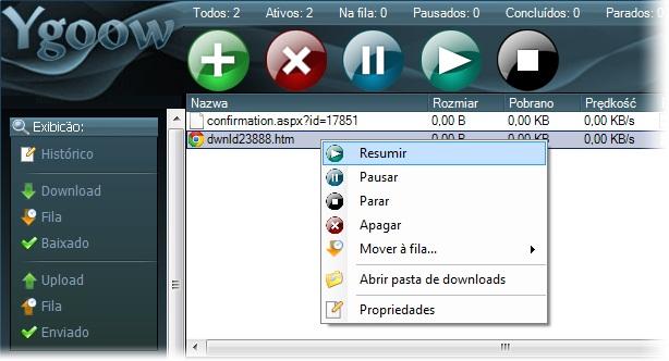 Ygoow - Imagem 2 do software