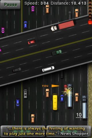 Kamikaze Race - Free Version - Imagem 2 do software