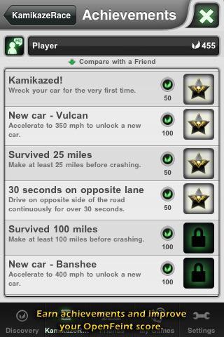Kamikaze Race - Free Version - Imagem 3 do software