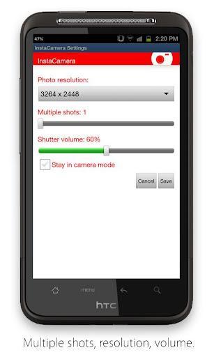InstaCamera - Imagem 2 do software