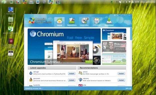 Linux Deepin - Imagem 3 do software