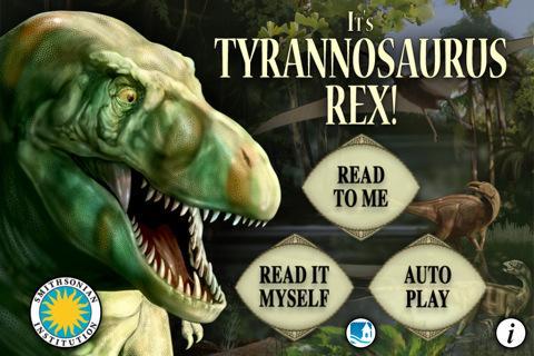 It`s Tyrannosaurus Rex - Smithsonian`s Prehistoric Pals - Imagem 1 do software