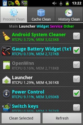 Android System Cleaner - Imagem 2 do software