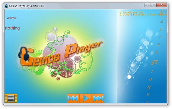 Genius Player - Imagem 1 do software