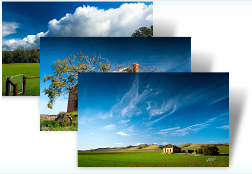 Australian Landscapes theme - Imagem 2 do software