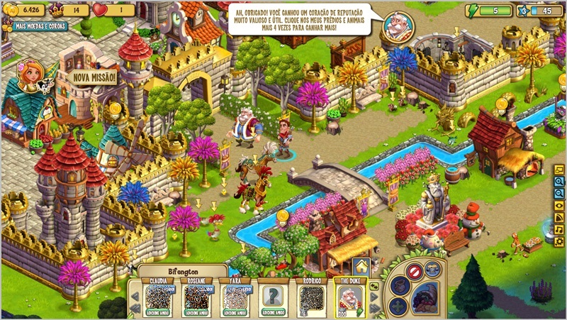 CastleVille - Imagem 4 do software