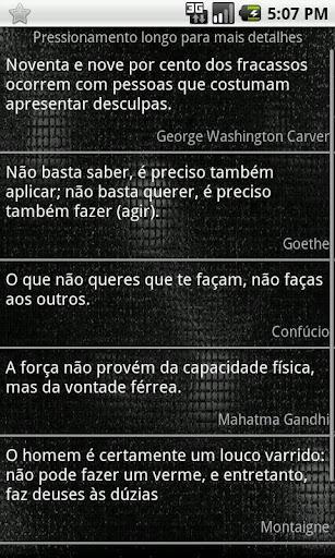 Frases Famosas - Imagem 2 do software