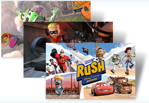 Kinect Rush: A Disney Pixar Adventure theme - Imagem 2 do software