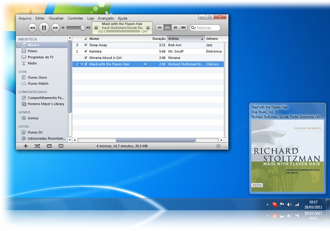 iTunesInfo - Imagem 1 do software