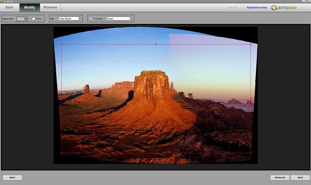 AcroPano Photo Stitcher - Imagem 1 do software