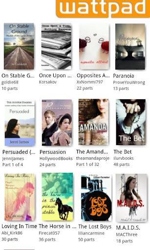 100,000 Free Books Wattpad - Imagem 1 do software