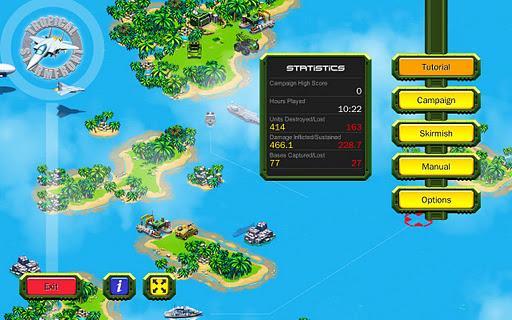 Tropical Stormfront - RTS - Imagem 1 do software