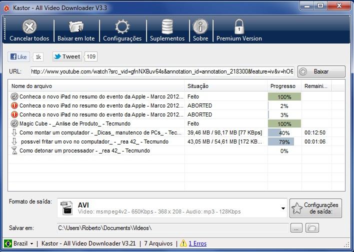 All VideoDownloader - Imagem 1 do software