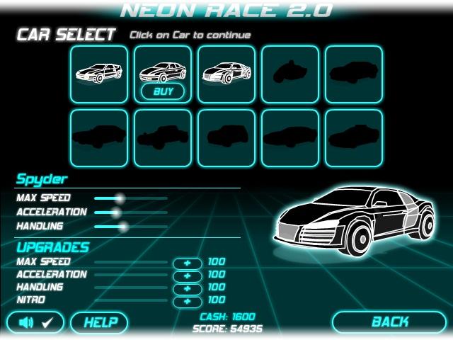 Neon Race 2 - Imagem 3 do software