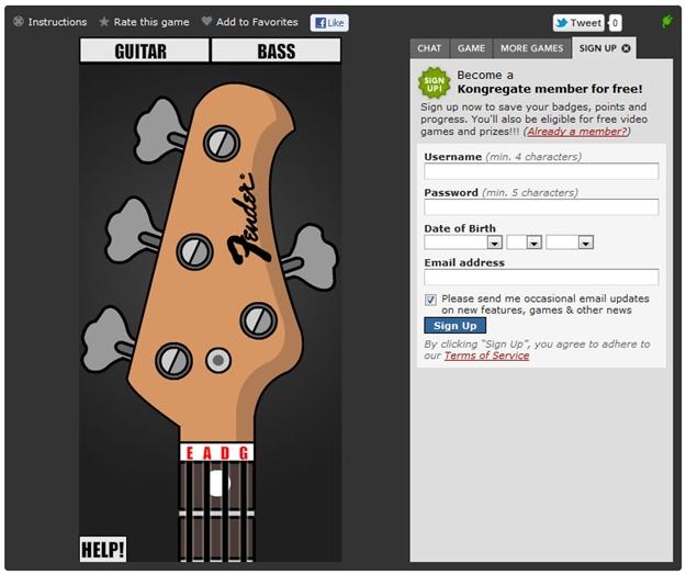 Guitar Tuner Online - Imagem 1 do software