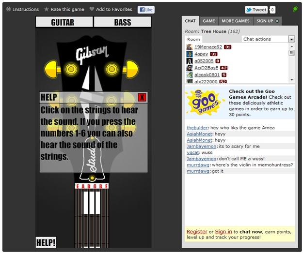 Guitar Tuner Online - Imagem 2 do software