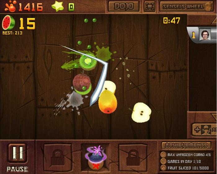 Fruit Ninja Frenzy - Imagem 1 do software