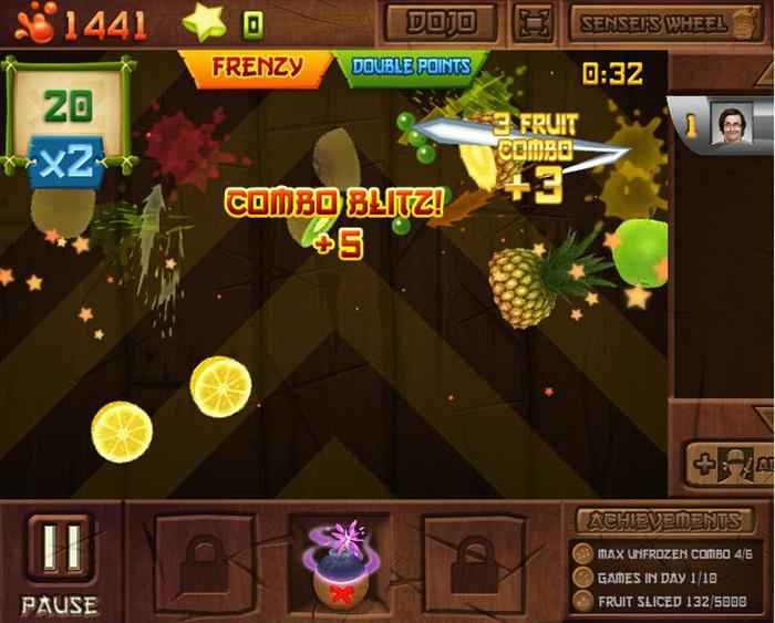 Fruit Ninja Frenzy - Imagem 2 do software