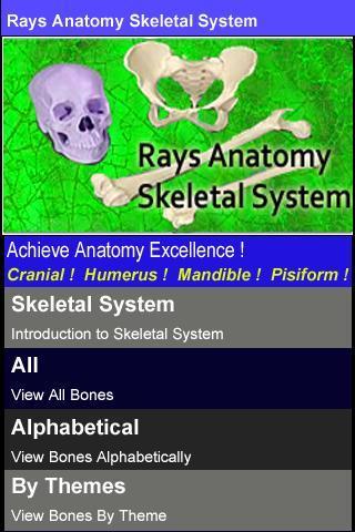 Rays Anatomy Skeletal System - Imagem 1 do software