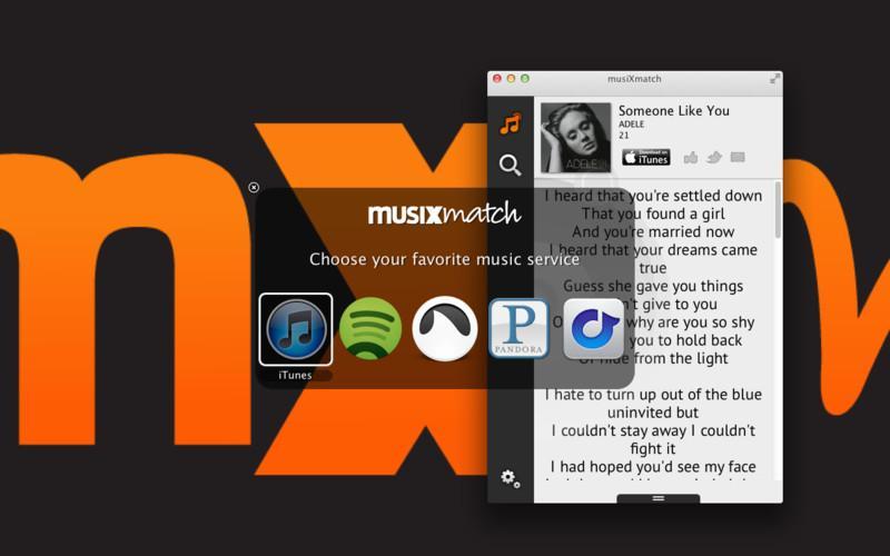 musiXmatch - lyrics - Imagem 1 do software