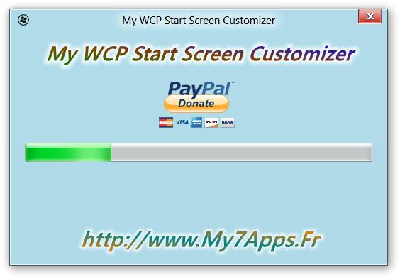 Start Screen Customizer - Imagem 3 do software