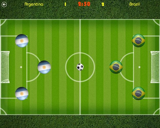 Air Soccer.