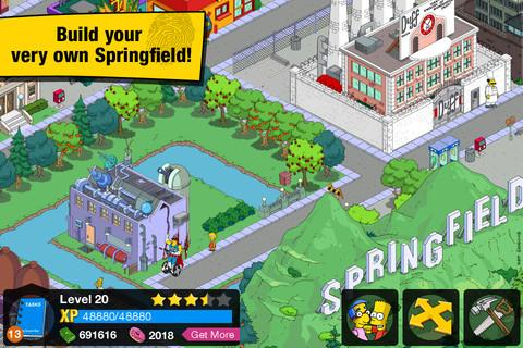 The Simpsons: Tapped Out - Imagem 2 do software