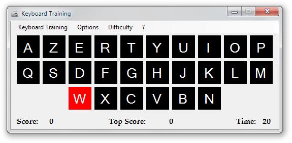 Keyboard Training - Imagem 1 do software