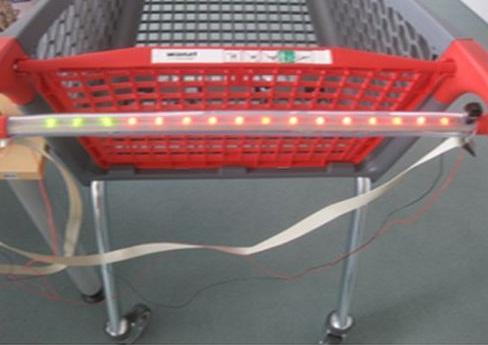 23b4756bd1 As luzes indicam a procedência e as características do produto. (Fonte da  imagem: Reprodução/Gizmowatch)