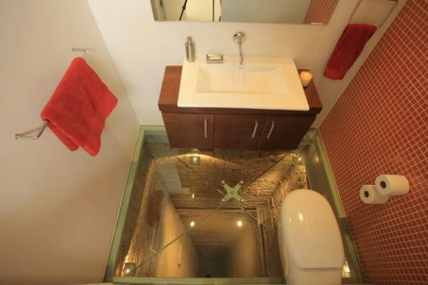 Conheça O Banheiro Para Quem Não Tem Medo De Altura Mega