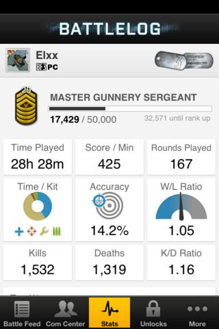 EA Battlelog - Imagem 2 do software