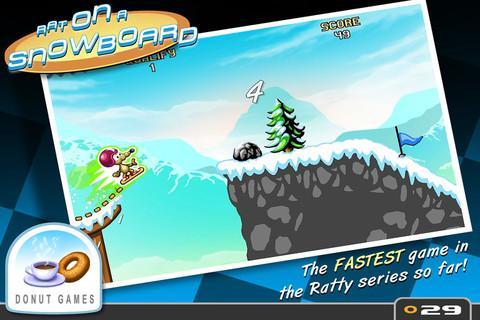 Rat On A Snowboard - Imagem 1 do software