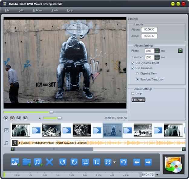 4Media Photo DVD Maker - Imagem 1 do software