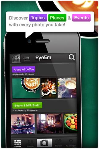 EyeEm - Photo Filter Camera - Imagem 2 do software