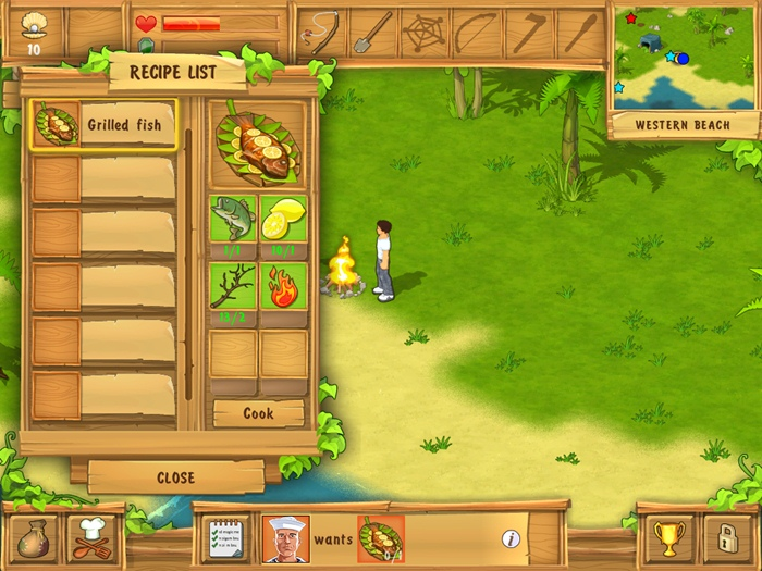 The Island: Castaway - Imagem 2 do software