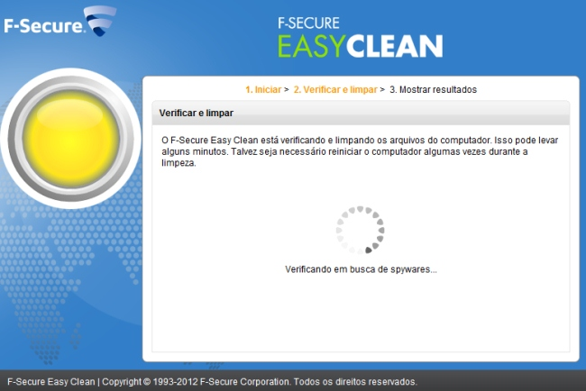 F-Secure Easy Clean - Imagem 1 do software