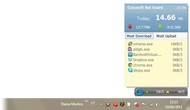 Cucosoft Net Guard - Imagem 2 do software