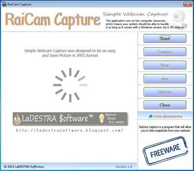 RaiCam Capture.