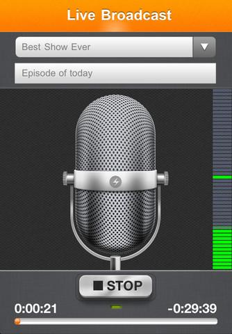 Spreaker Radio - Imagem 2 do software