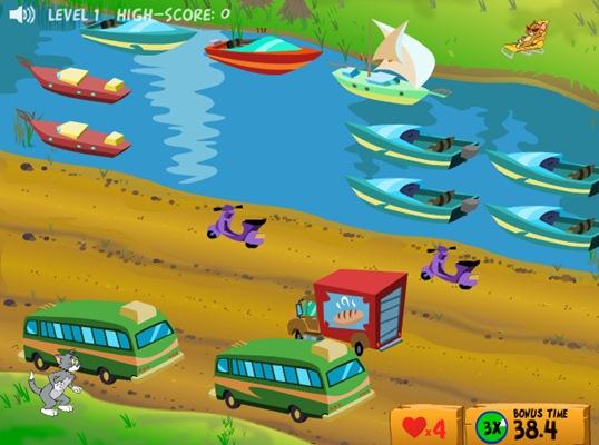Tom & Jerry in Cat Crossing - Imagem 1 do software