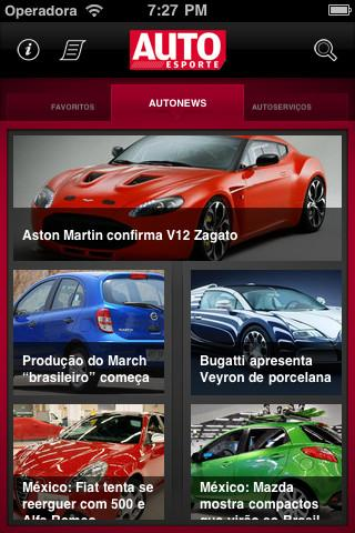 Autoesporte News Mobile - Imagem 1 do software