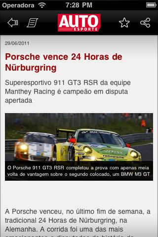 Autoesporte News Mobile - Imagem 2 do software